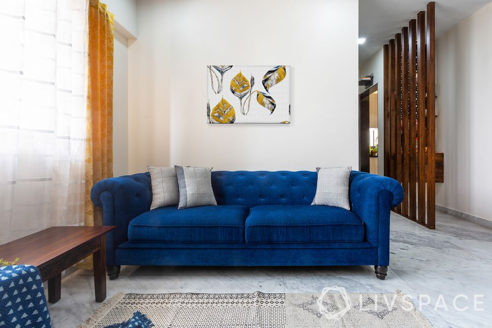 contemporary interior designer-Chesterfield sofa