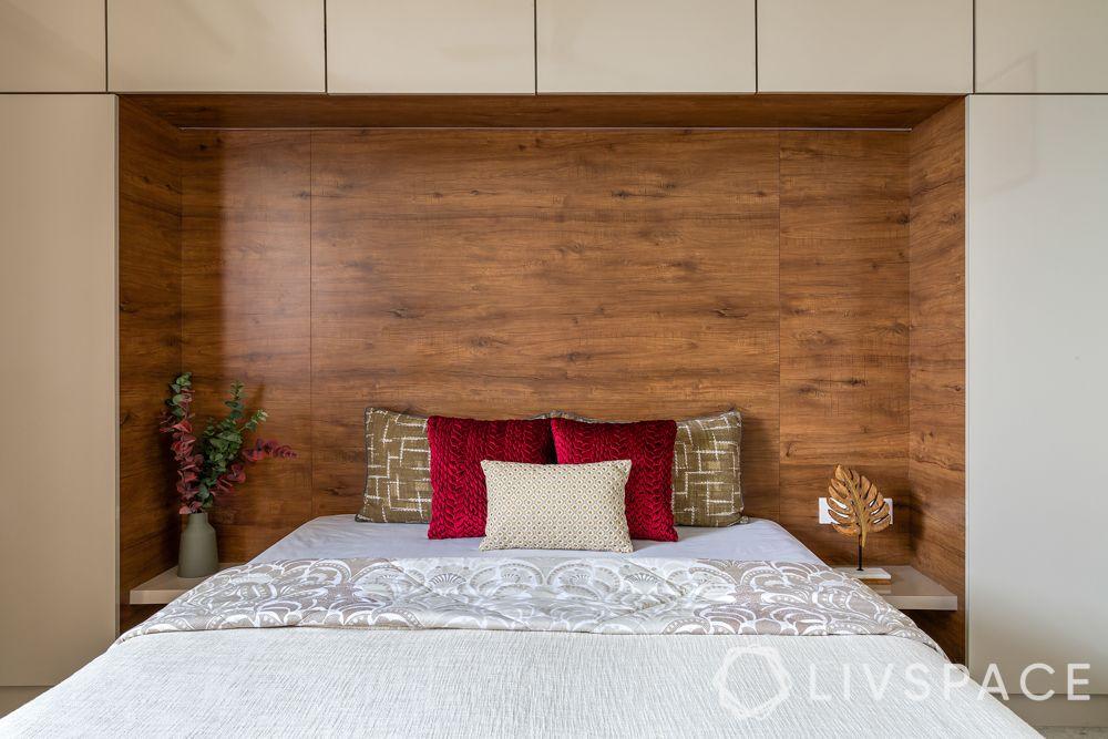 modern home interior design-bed-storage