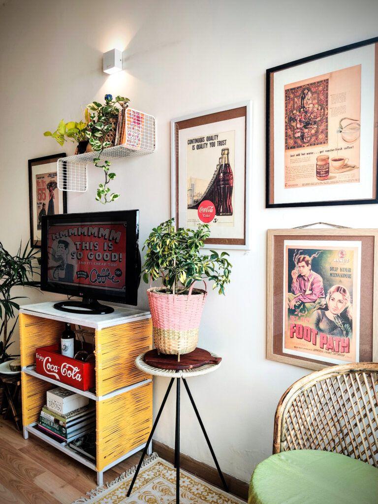 handmade decoration ideas for home-photo wall