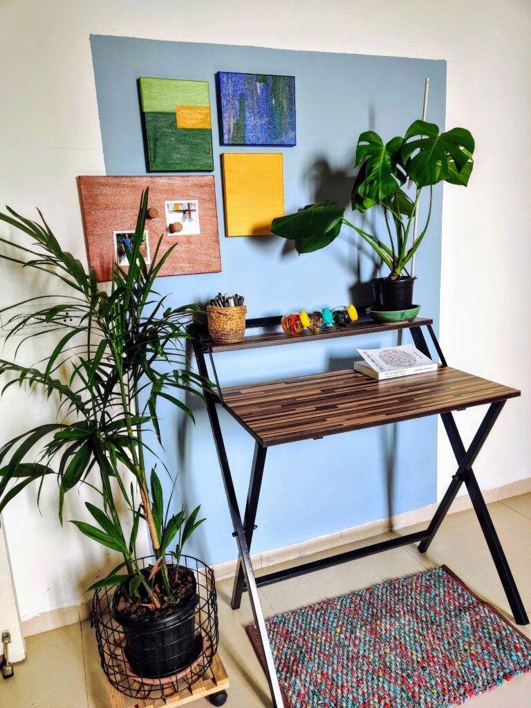 diy home decor crafts-minimal paintings