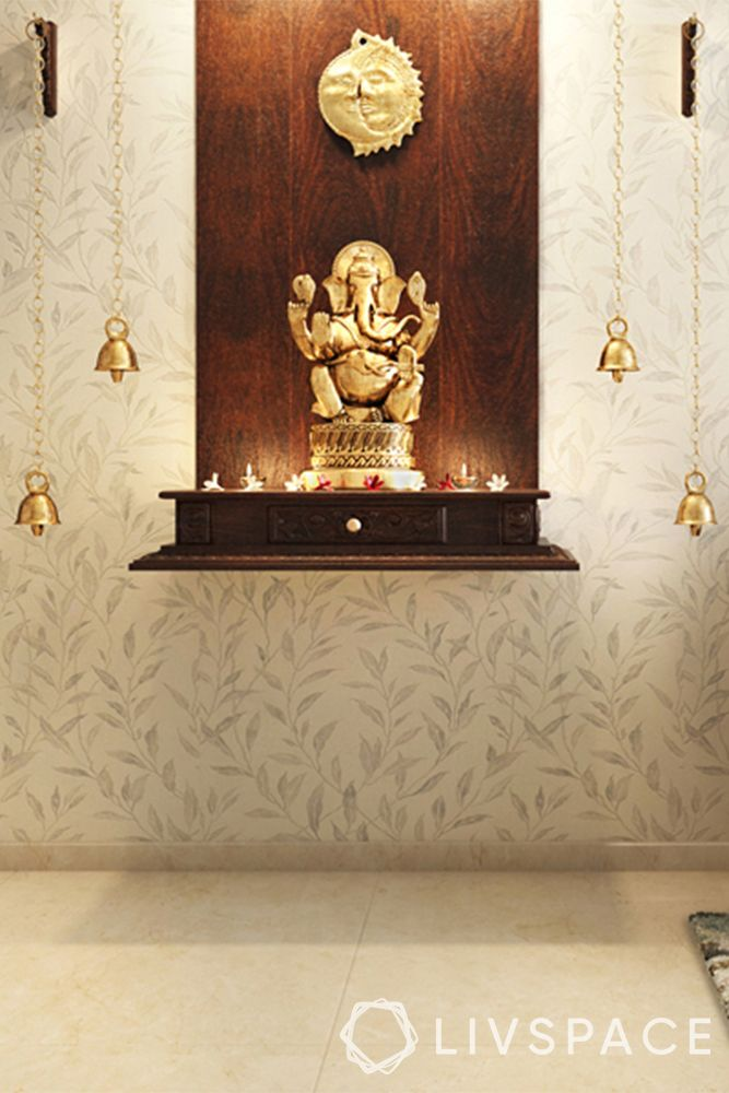 devghar design-wall mounted unit