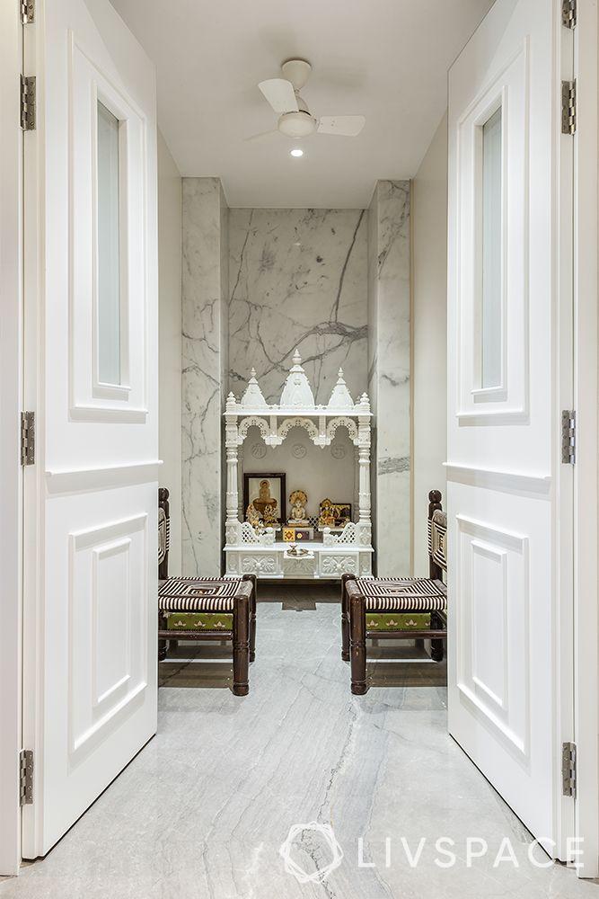 pooja unit-marble mandir-pooja room doors