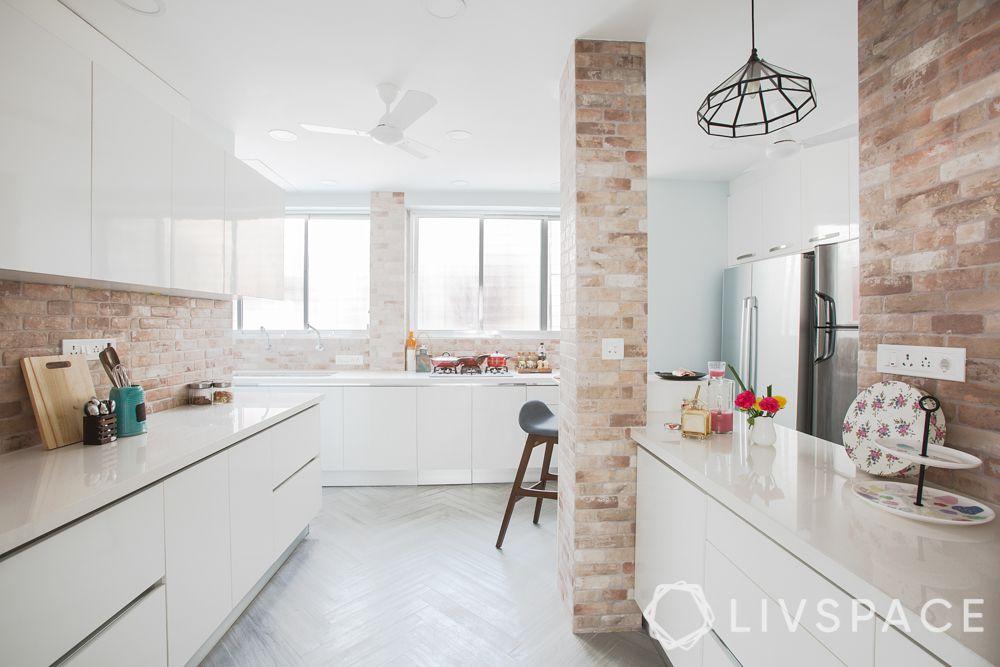 white kitchen-scandinavian kitchen