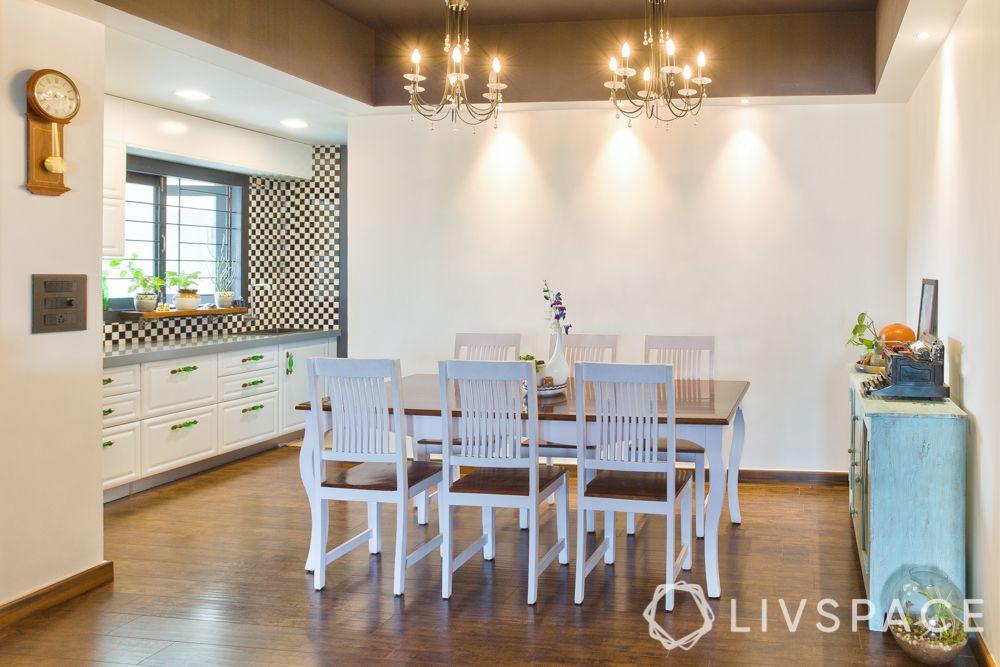 monochrome kitchen-colonial kitchen