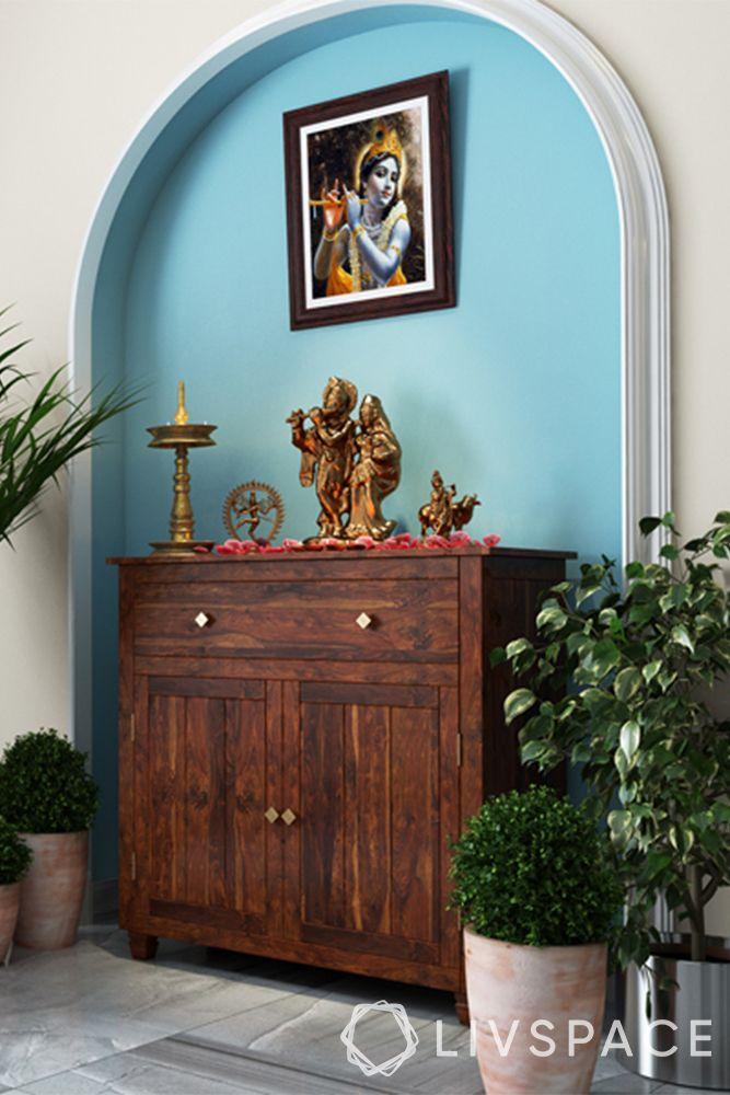 devghar design-background-cerulean blue