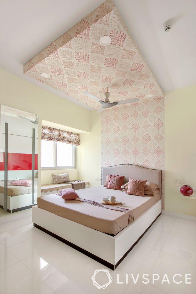 bedroom design-wallpaper design
