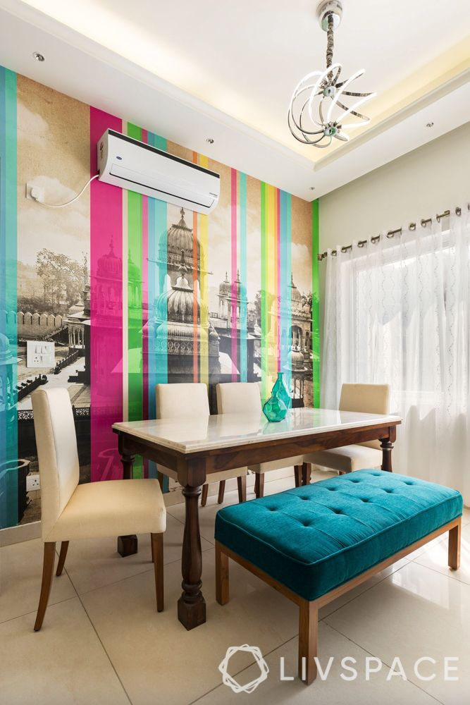 home maintenance tips-Krsnaa Mehta wallpaper-dining room