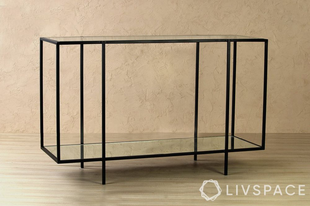 console table design-minimal table