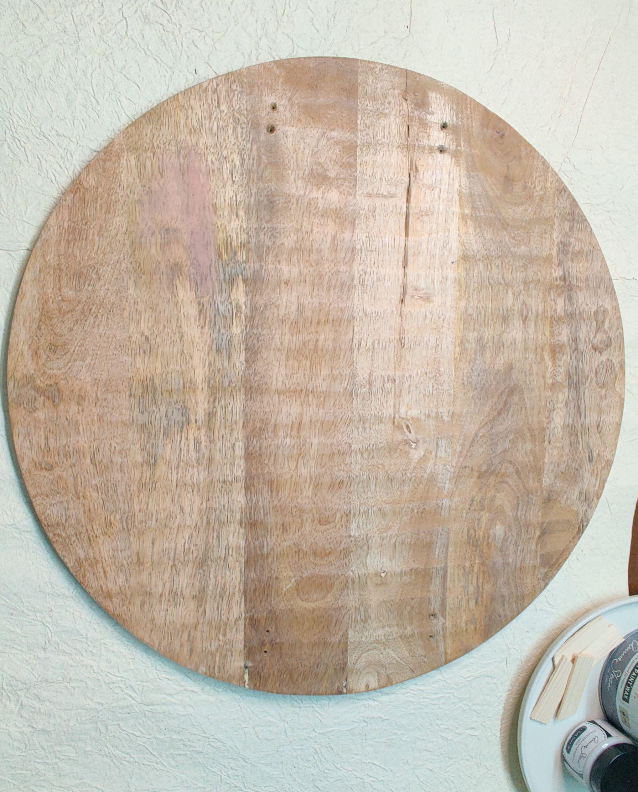 diy room decor-wooden blank