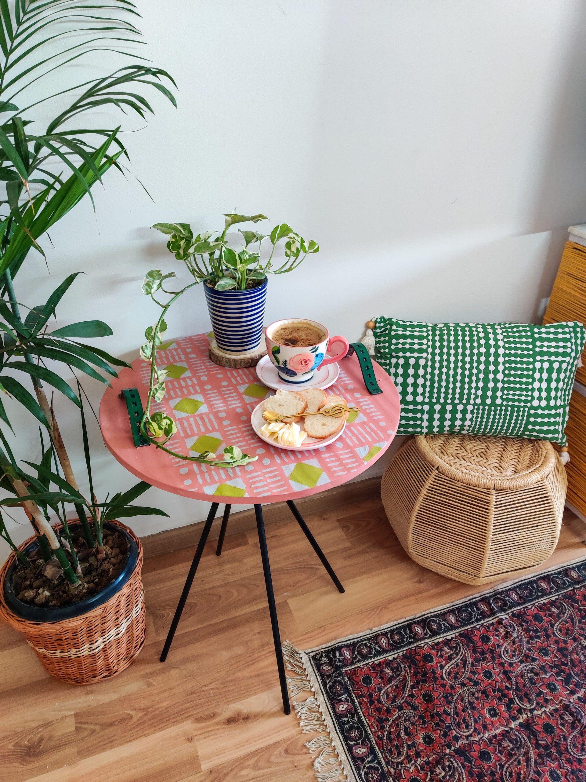 modern diy home decor-after image