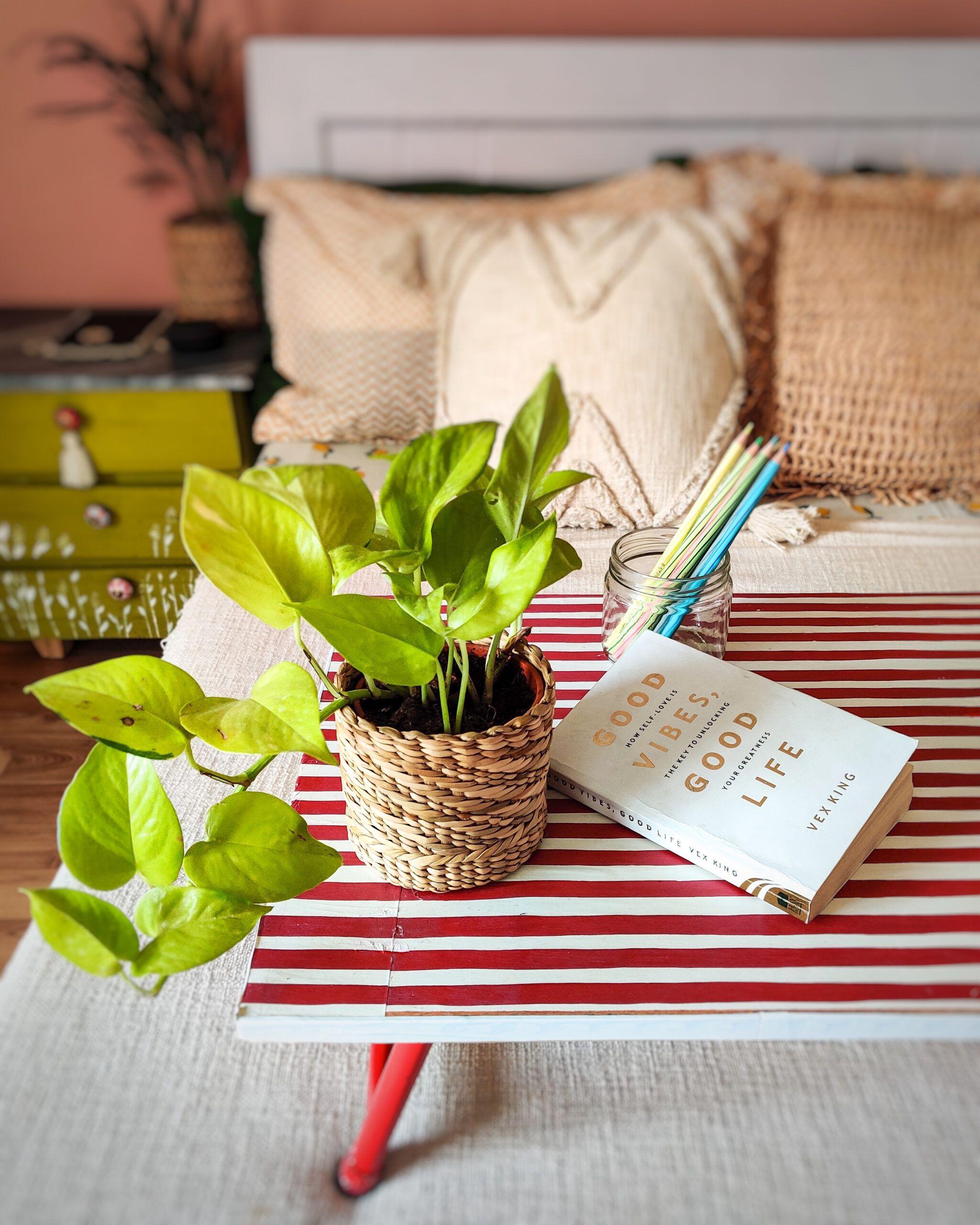 diy home decor crafts-decoupage table
