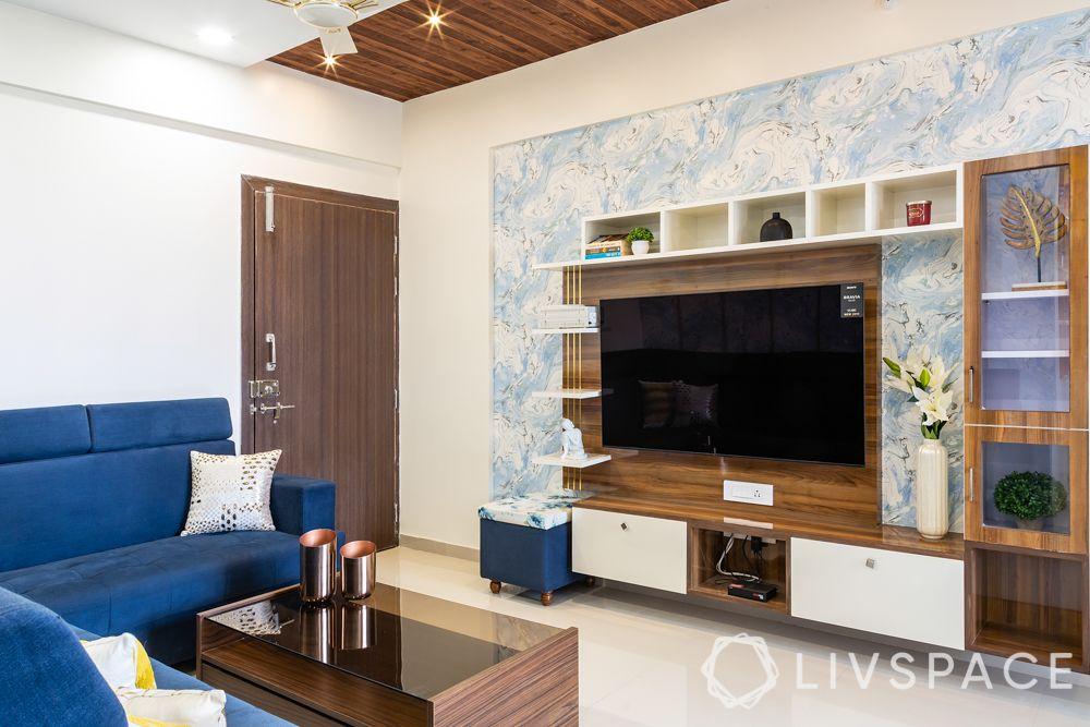 budget house-TV unit-storage-display