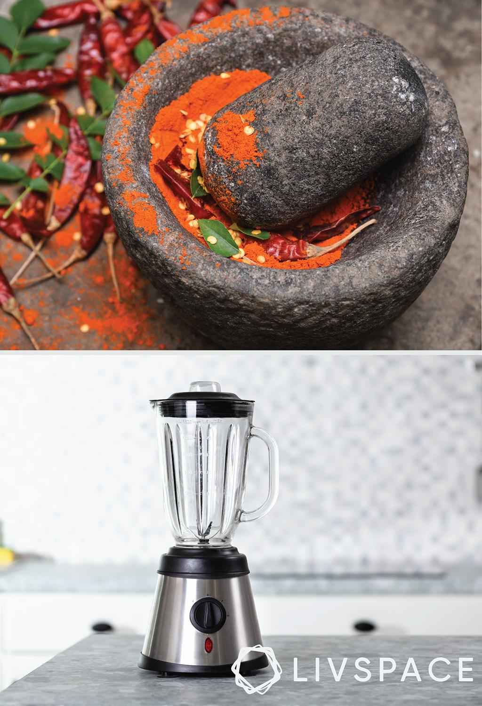 the great indian kitchen-mortar pestle-grinder