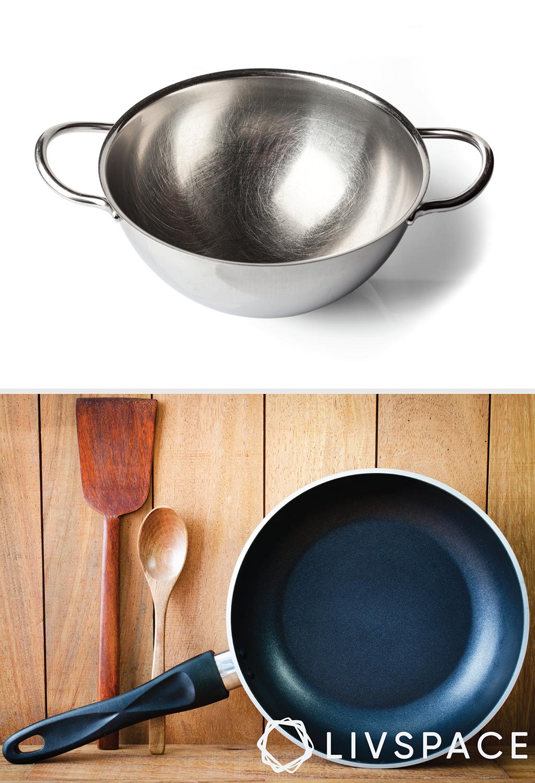 kadai-non stick cookware