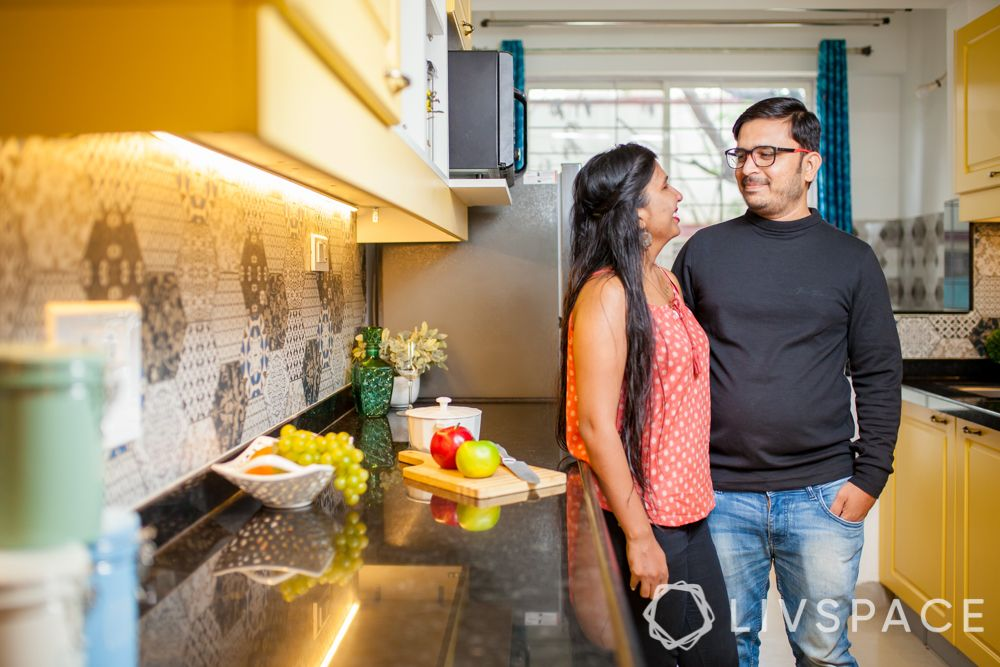kitchen design-yellow kitchen