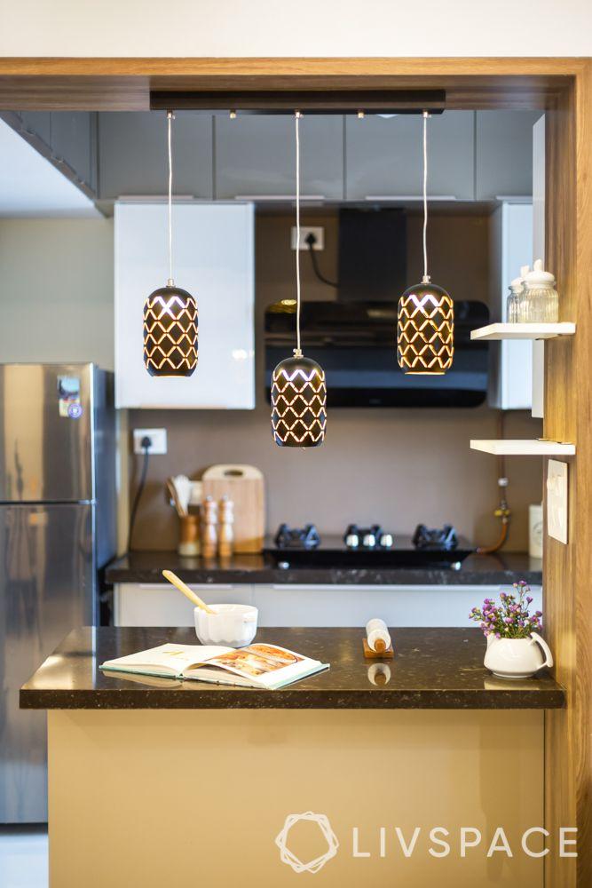 open kitchen-pendant lights