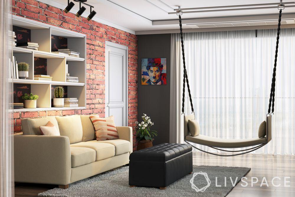 swing designs-brick wall