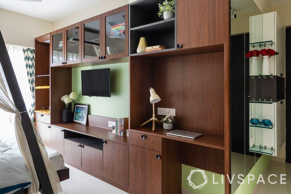 integrated furniture-bedroom