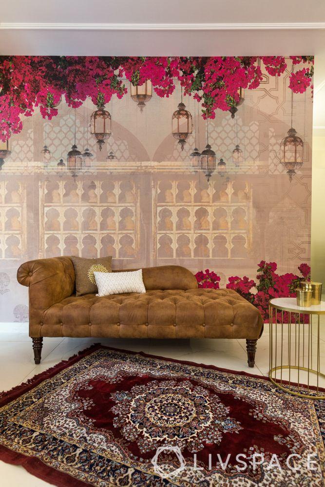interior wall design-accent wall-wallpaper