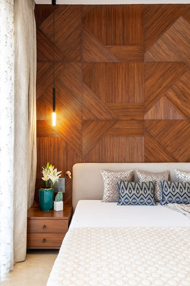 interior wall design-accent wall-wall panelling-flat panels