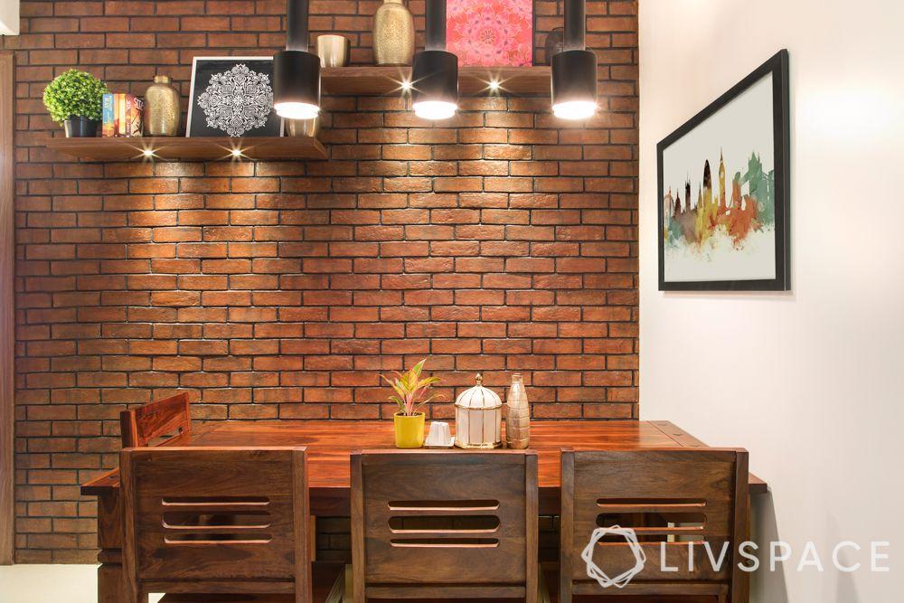 interior wall design-accent wall-tile wall-brick tiles