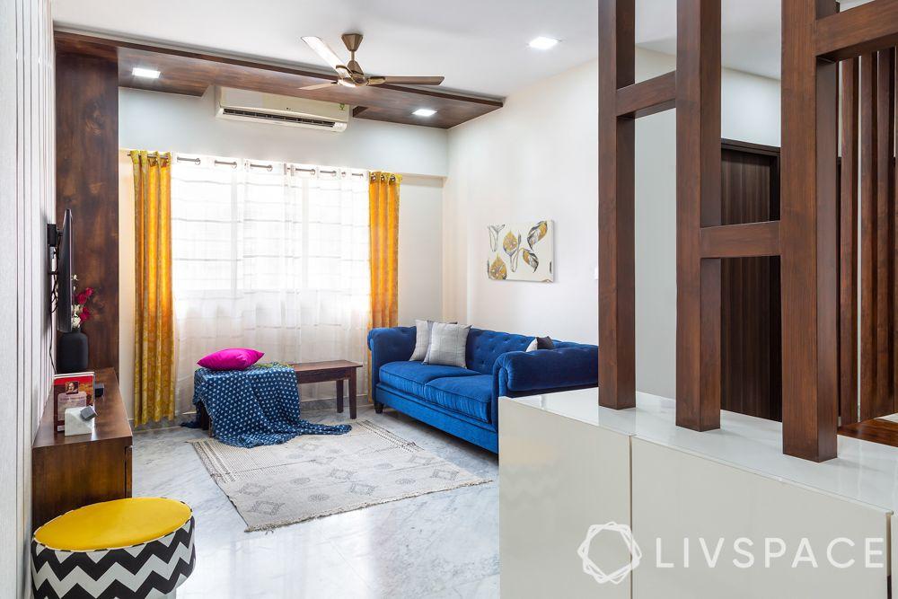 simple room design-minimal living room