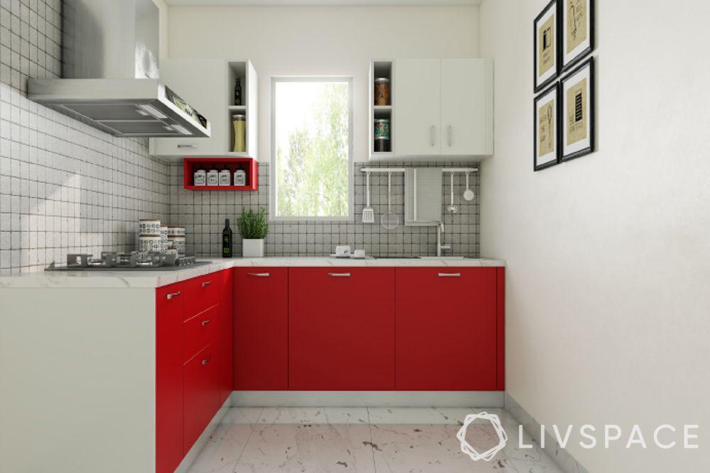 modular-kitchen-design-l-shape-small-kitchen-red-and-white