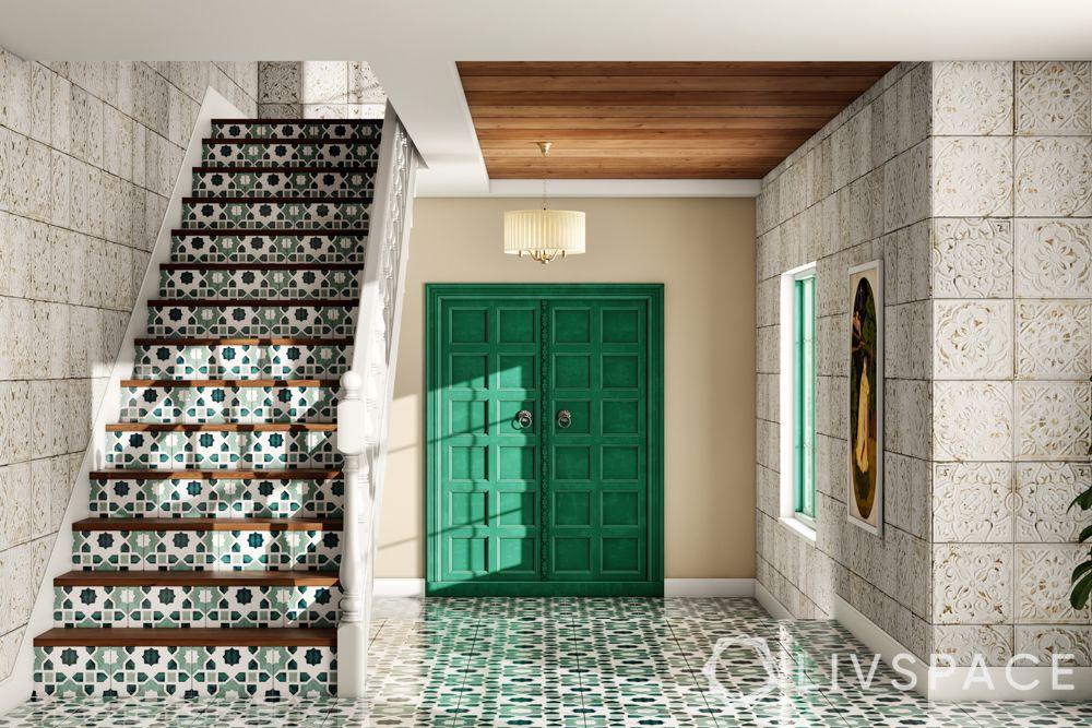 door-designs-green-double-door-wooden-indian-fort