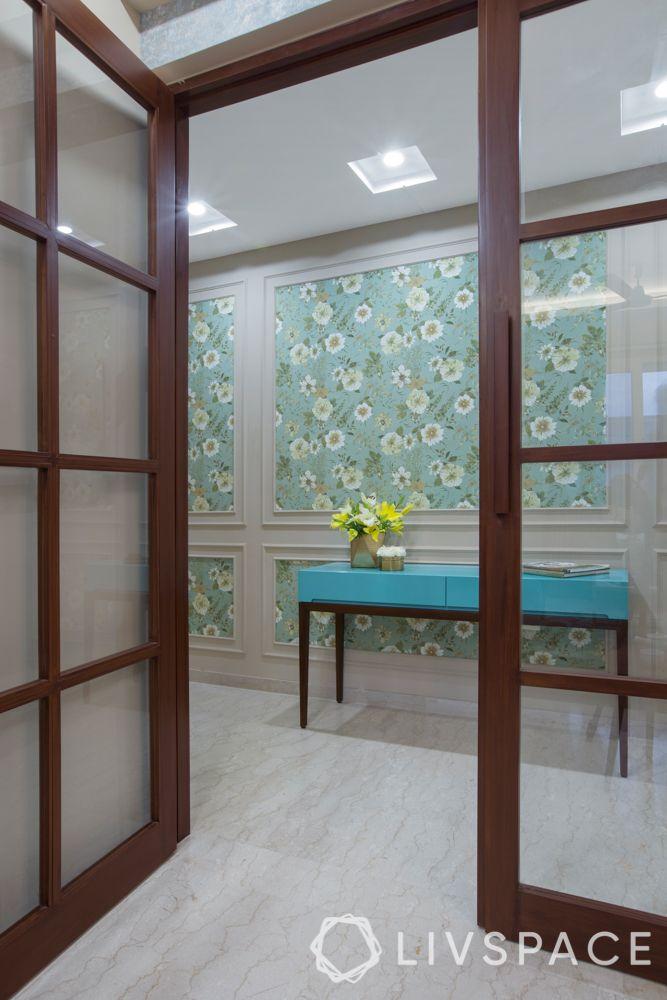 door-designs-glass-doors-wooden-dark