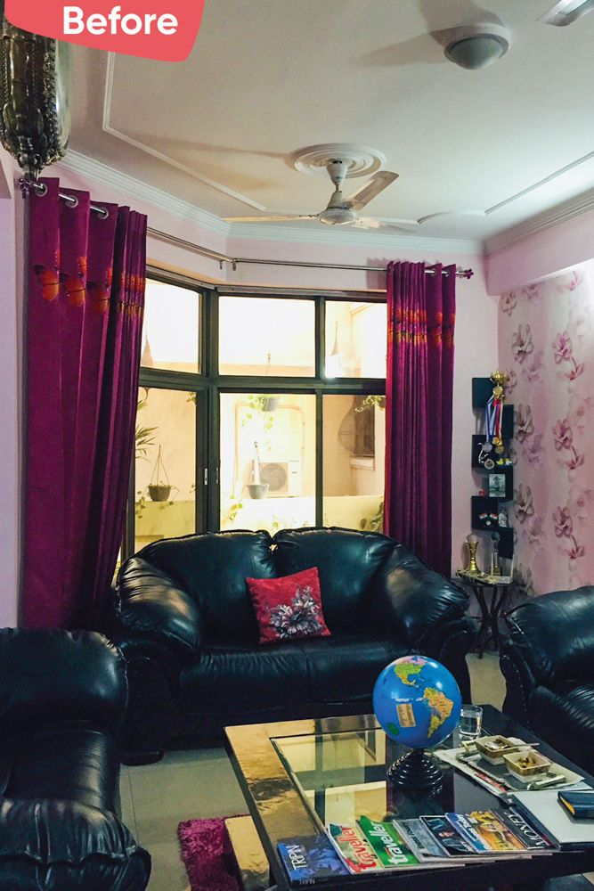 old house renovation-before image-Gurgaon home