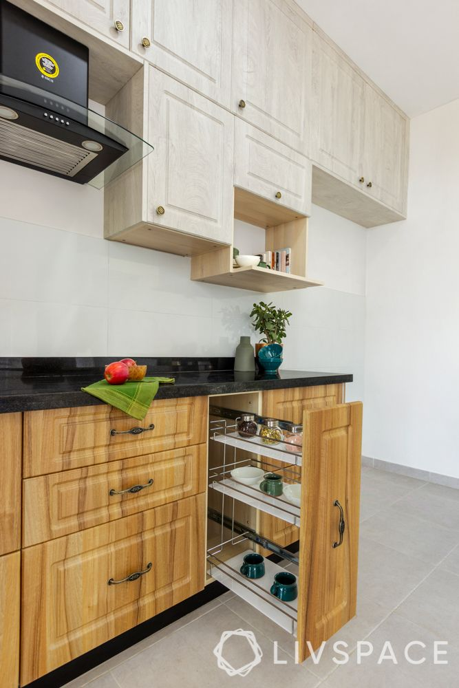Indian style kitchen design images-spice rack