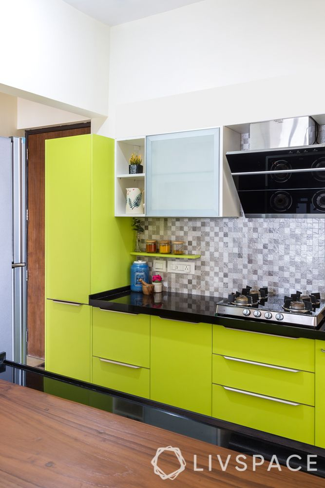 Indian style kitchen design images-parallel kitchen