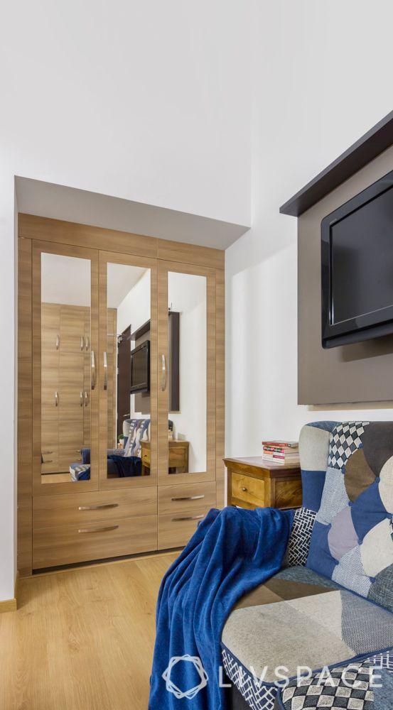 wooden wardrobe-wooden flooring