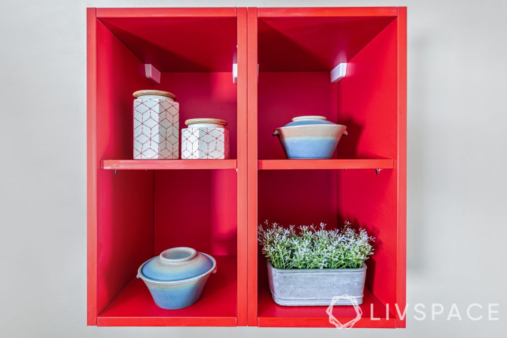 kitchen-remodeling-compact-red-cabinet-storage-plants