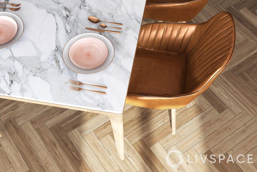 wooden flooring-vinyl floor