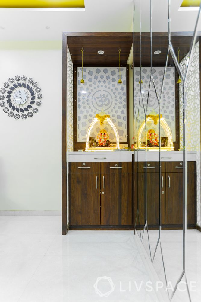 living-room-ideas-compact-pooja-room-wooden-unit-mirrors