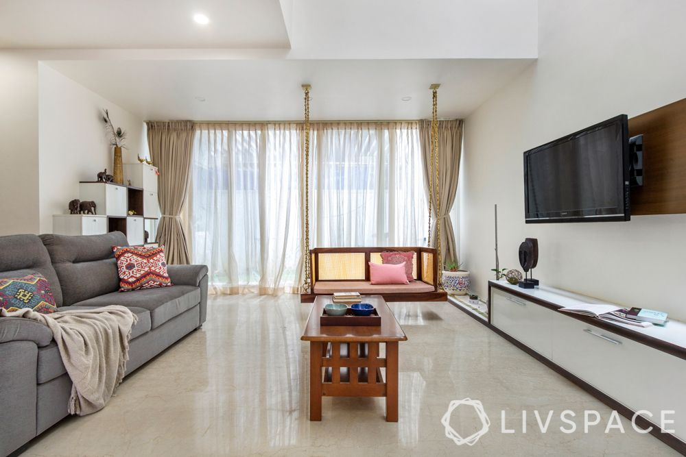 living-room-ideas-neutral-colours-white-walls-grey-sofa-jhoola-beige-curtains