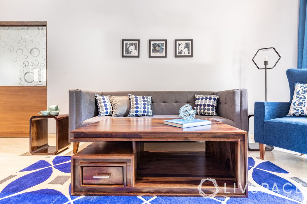 Small Living Room-Coffee Table