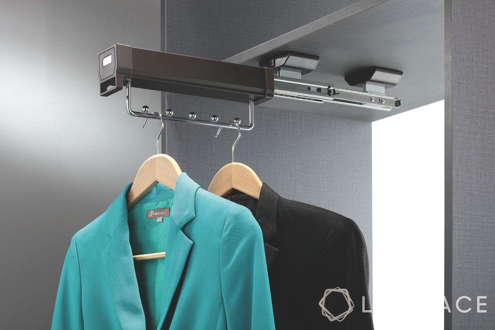 modern wardrobe design-clothes hangers