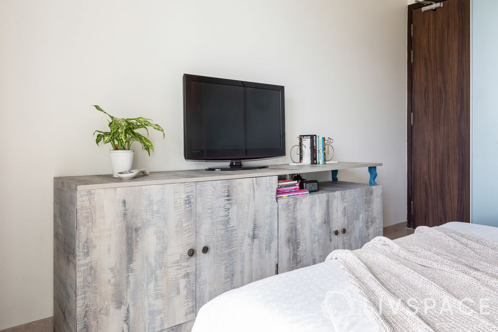 tv-wall-decoration-stand-alone-unit-grey-distressed-look-deep-cabinets