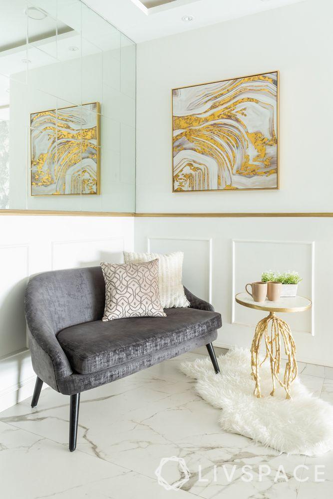 interior designer for home-refurbished furniture-mirror panel