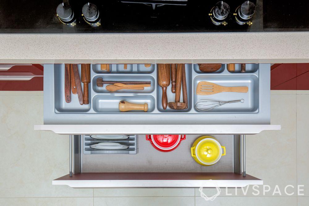 interior designer for home-kitchen drawers