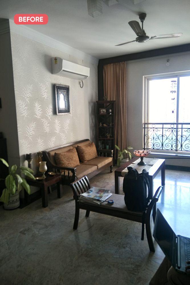 mumbai house-before photo-living room