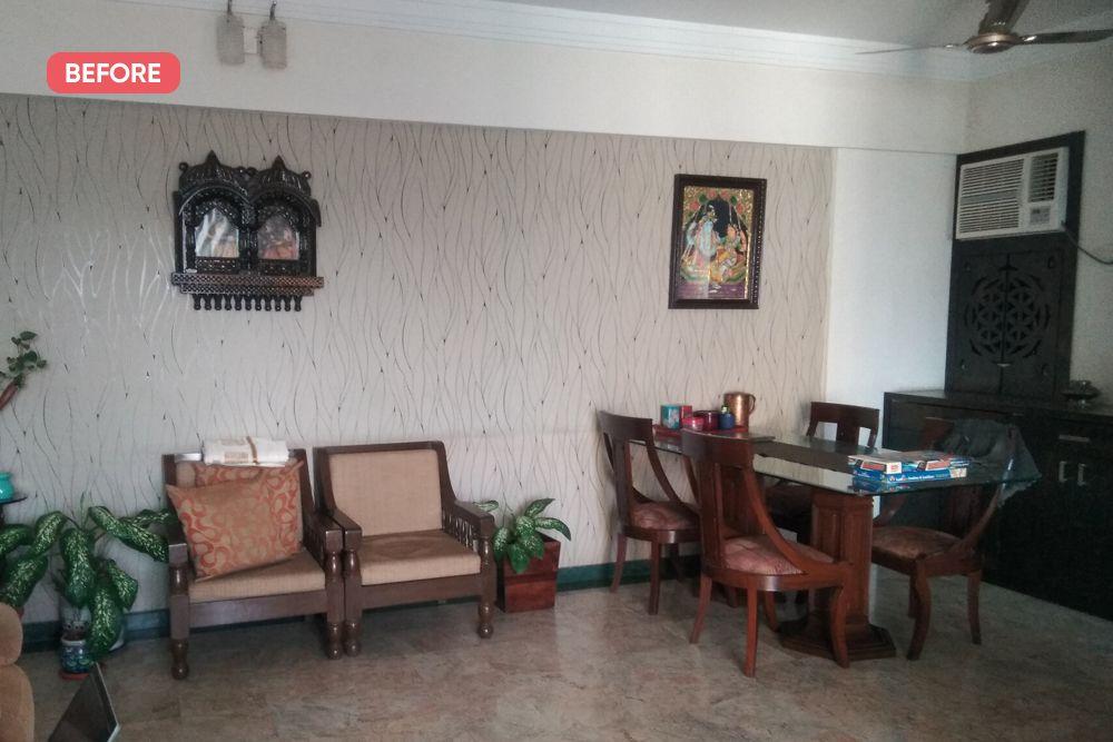 mumbai house-before photo-dining area