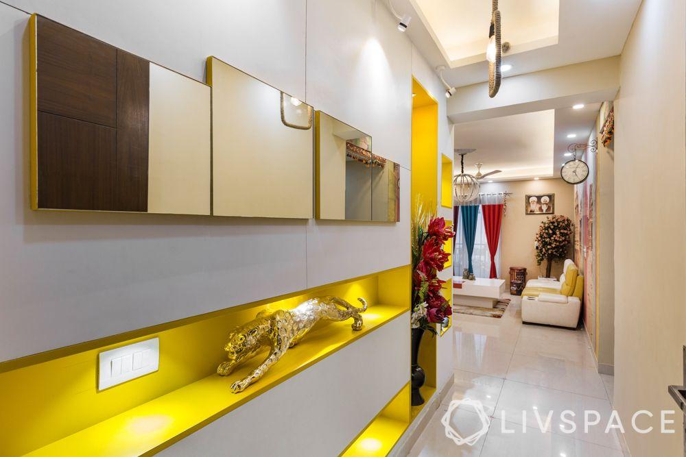 foyer decor-colour pop