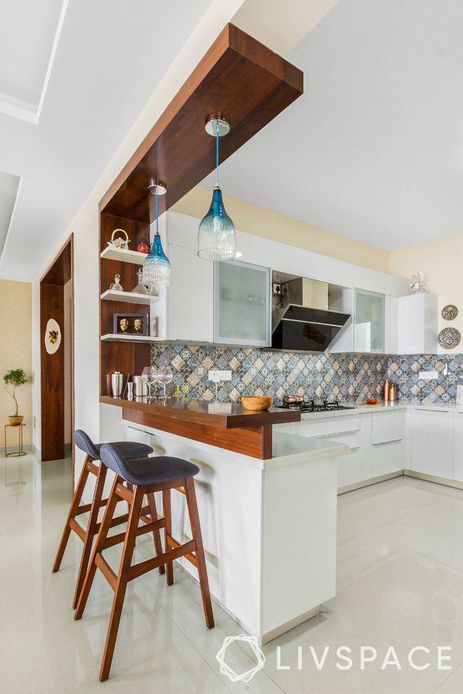 barstools- open kitchen-breakfast counter