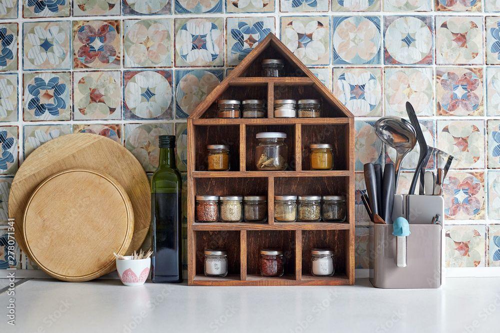 spice racks-kitchen furniture