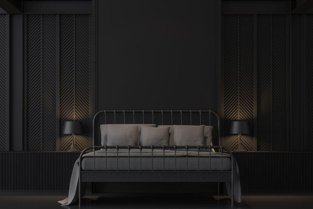 small house design-dark interiors