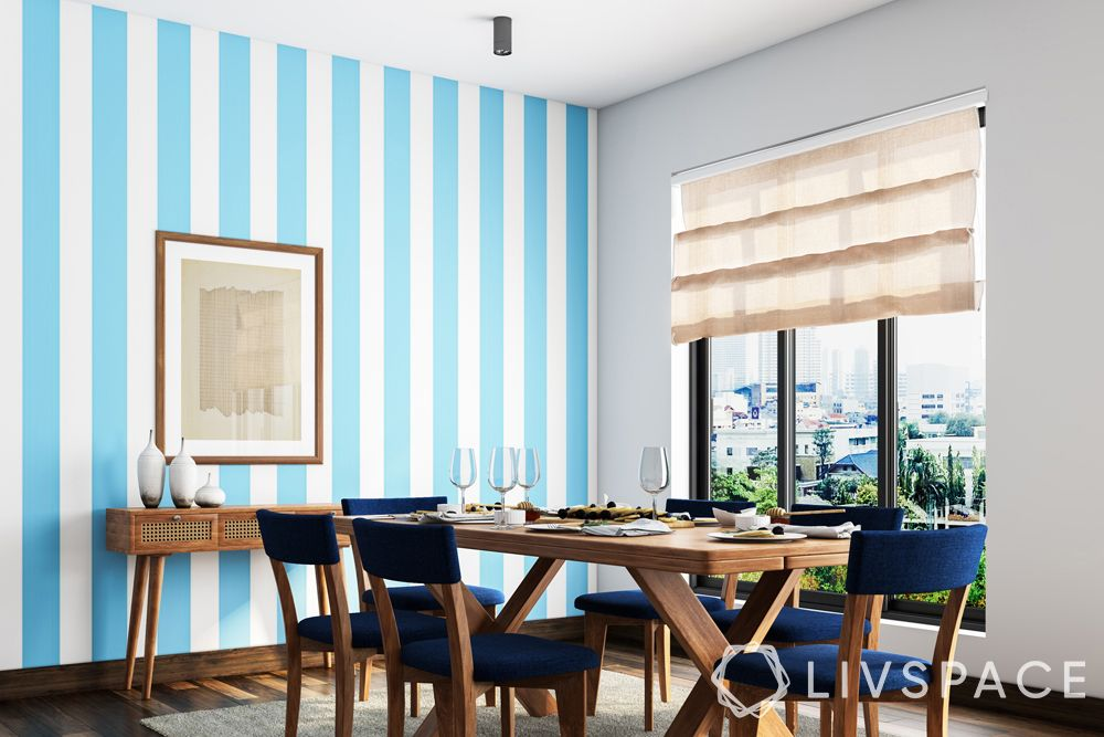 small modern house design-accent wall-focal pattern