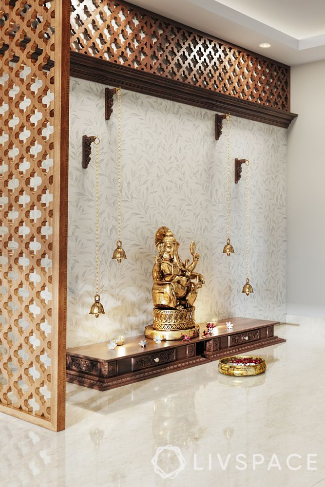 wooden-temple-for-home-partition